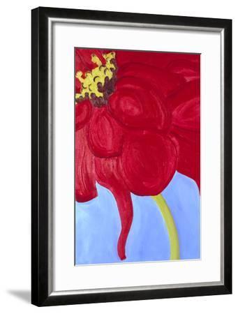 Red Zinnia-Soraya Chemaly-Framed Premium Giclee Print