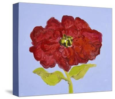 Red Flower-Soraya Chemaly-Stretched Canvas Print