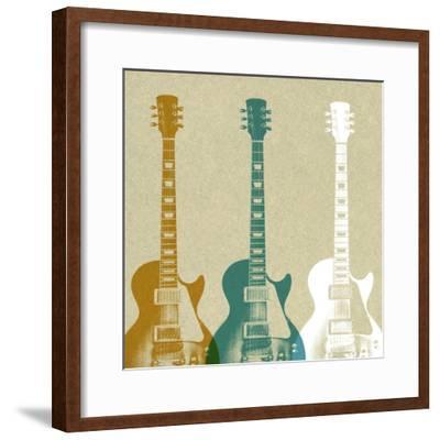 Guitars 3-Stella Bradley-Framed Premium Giclee Print