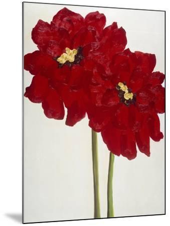 Red Splendor 2-Soraya Chemaly-Mounted Premium Giclee Print