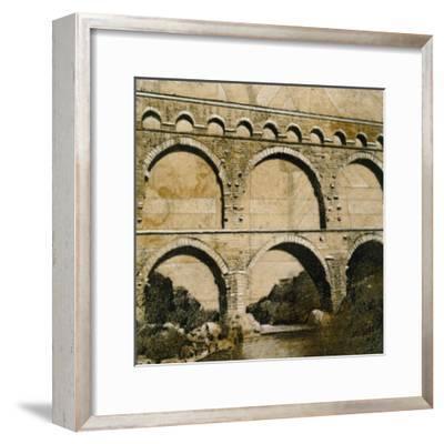 Aqueduct 1-John Douglas-Framed Premium Giclee Print