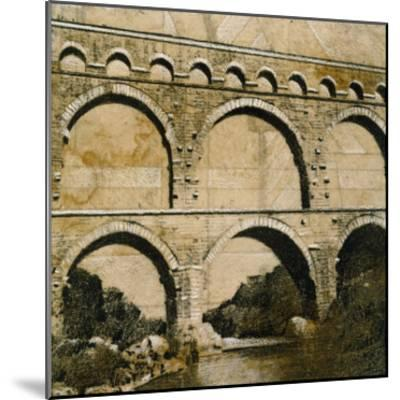 Aqueduct 1-John Douglas-Mounted Premium Giclee Print
