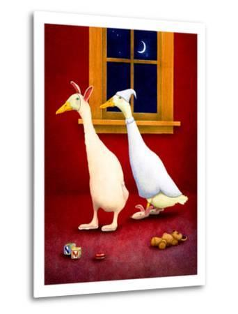 Bedtime Buddies-Will Bullas-Metal Print