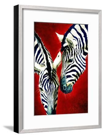 Black and White Affair-Will Bullas-Framed Premium Giclee Print