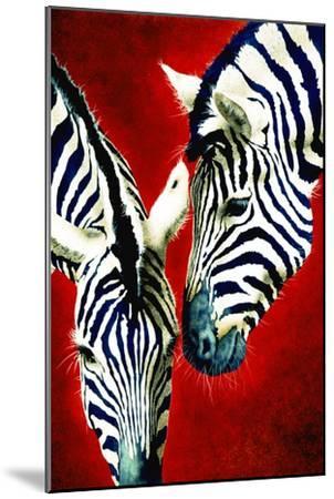 Black and White Affair-Will Bullas-Mounted Premium Giclee Print