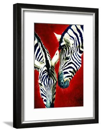 Black and White Affair-Will Bullas-Framed Premium Giclee Print