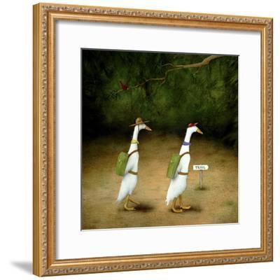 Backquackers-Will Bullas-Framed Premium Giclee Print