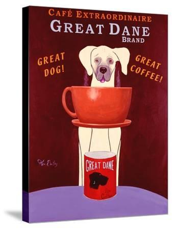 Great Dane Brand-Ken Bailey-Stretched Canvas Print