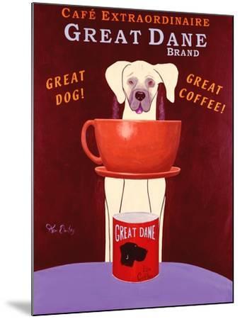Great Dane Brand-Ken Bailey-Mounted Premium Giclee Print