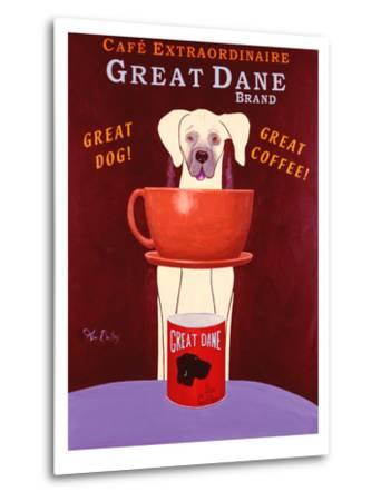 Great Dane Brand-Ken Bailey-Metal Print