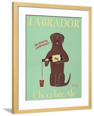 Lab Chocolate Ale-Ken Bailey-Framed Premium Giclee Print