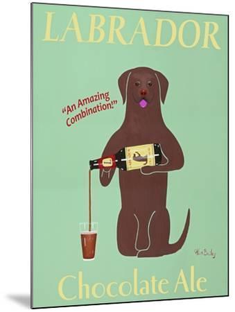 Lab Chocolate Ale-Ken Bailey-Mounted Premium Giclee Print