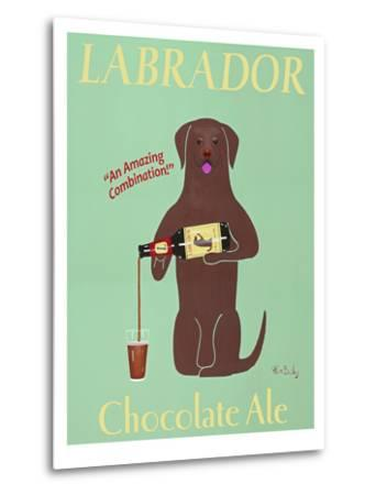 Lab Chocolate Ale-Ken Bailey-Metal Print