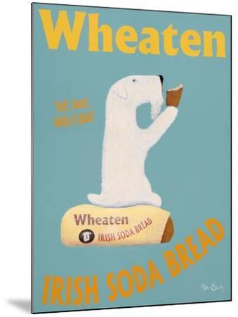 Wheaten Soda Bread-Ken Bailey-Mounted Premium Giclee Print