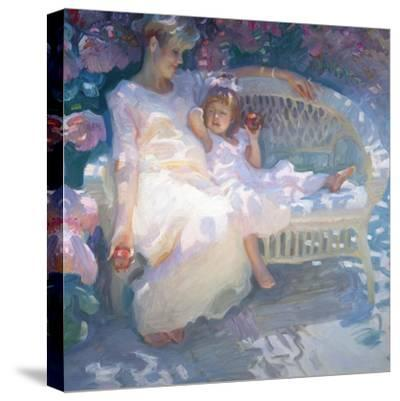 Expecting-John Asaro-Stretched Canvas Print