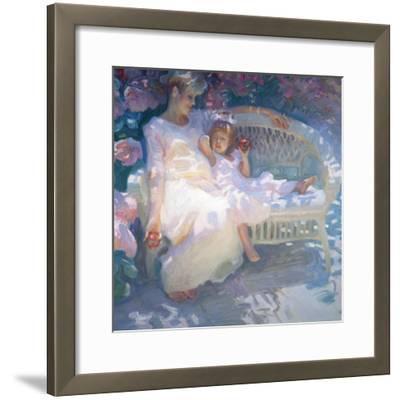 Expecting-John Asaro-Framed Premium Giclee Print
