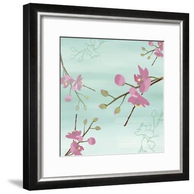 Zen Blossoms 1-Kate Knight-Framed Premium Giclee Print