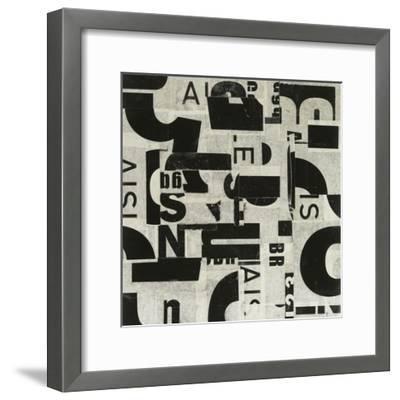 Randomness-JB Hall-Framed Premium Giclee Print