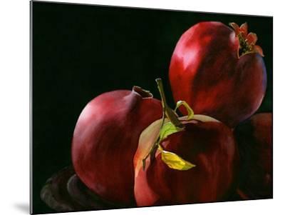 Four Pomegranates-Terri Hill-Mounted Premium Giclee Print