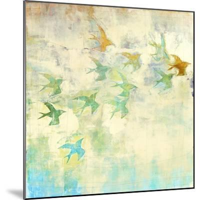 Oiseaux 2-Maeve Harris-Mounted Premium Giclee Print