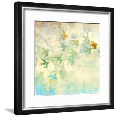 Oiseaux 2-Maeve Harris-Framed Premium Giclee Print