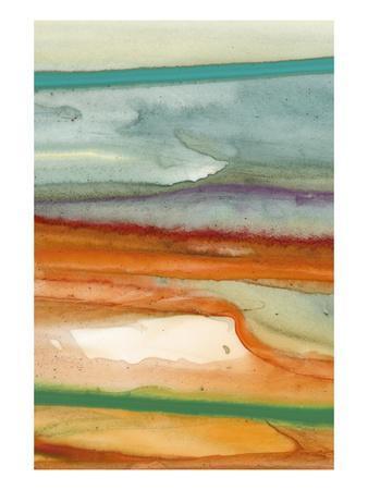 Sunset Splash A-Tracy Hiner-Framed Premium Giclee Print