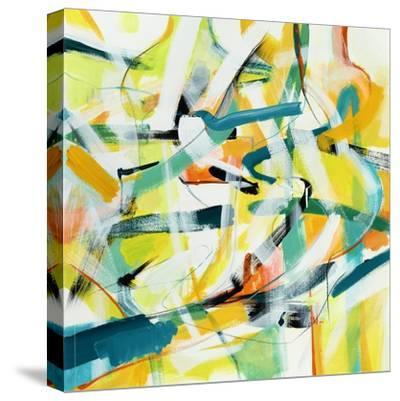 Here and There 4-Akiko Hiromoto-Stretched Canvas Print