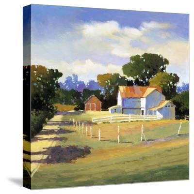 Barns on Greenbrier VI-Max Hayslette-Stretched Canvas Print