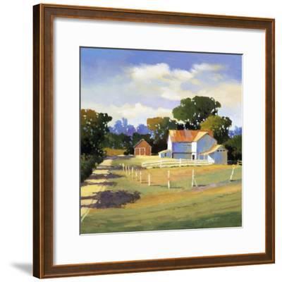 Barns on Greenbrier VI-Max Hayslette-Framed Premium Giclee Print