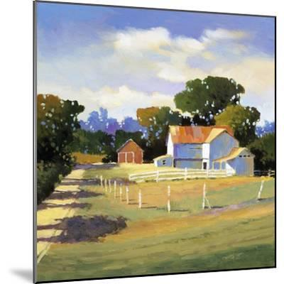 Barns on Greenbrier VI-Max Hayslette-Mounted Premium Giclee Print
