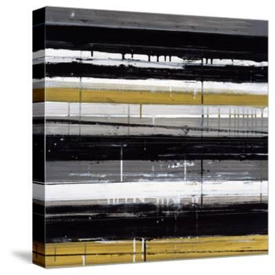 Routes D-JB Hall-Stretched Canvas Print