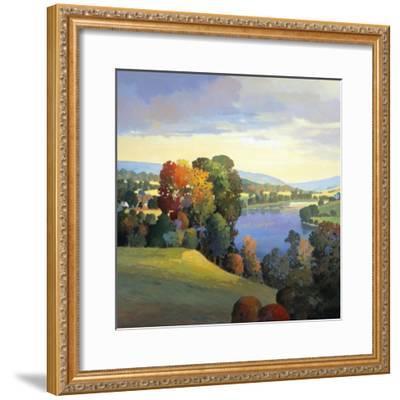 Hill & Valley III-Max Hayslette-Framed Premium Giclee Print
