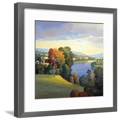 Hill & Valley III-Max Hayslette-Framed Premium Giclee Print