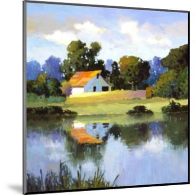 Barns on Greenbrier II-Max Hayslette-Mounted Premium Giclee Print