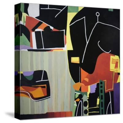 Gardens of the Mind 81-Max Hayslette-Stretched Canvas Print