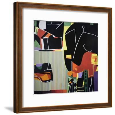 Gardens of the Mind 81-Max Hayslette-Framed Premium Giclee Print