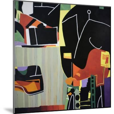 Gardens of the Mind 81-Max Hayslette-Mounted Premium Giclee Print