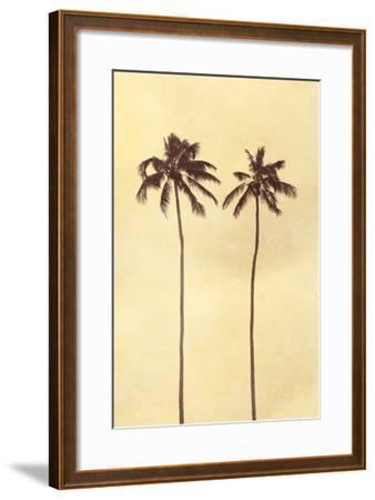 Palm Vista II-Thea Schrack-Framed Premium Photographic Print