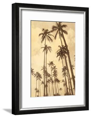 Palm Vista V-Thea Schrack-Framed Premium Photographic Print