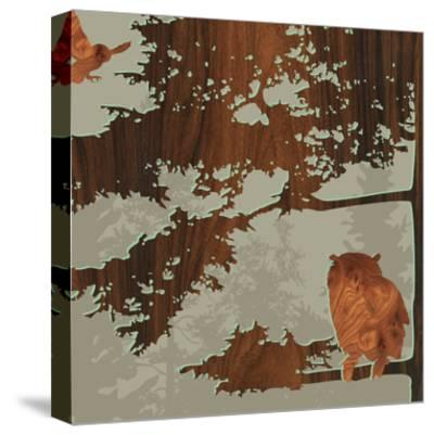 Bird 1-jefdesigns-Stretched Canvas Print