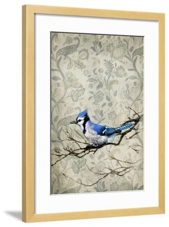 Blue Jay-GI ArtLab-Framed Premium Photographic Print