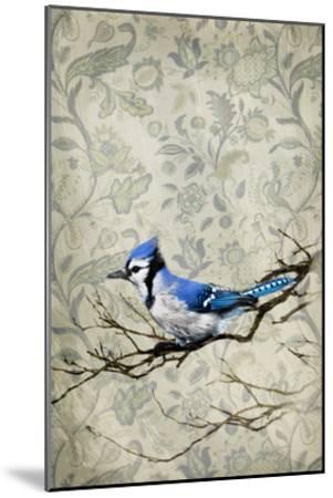 Blue Jay-GI ArtLab-Mounted Premium Photographic Print