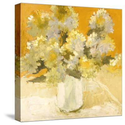 White Hydrangea Bouquet-Dale Payson-Stretched Canvas Print