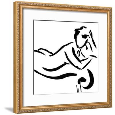 Figure Study 6-Cheryl Roberts-Framed Premium Giclee Print