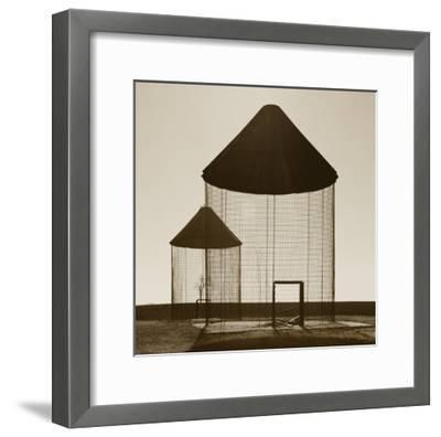 Corn Cribs 2-TM Photography-Framed Premium Photographic Print