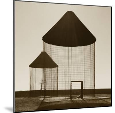 Corn Cribs 2-TM Photography-Mounted Premium Photographic Print
