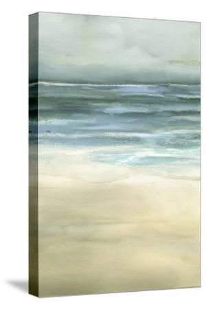 Tranquil Sea II-Jennifer Goldberger-Stretched Canvas Print