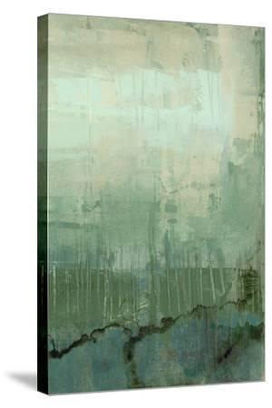 Emerald Sky II-Jennifer Goldberger-Stretched Canvas Print