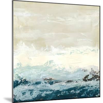 Coastal Currents I-Erica J^ Vess-Mounted Premium Giclee Print