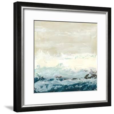 Coastal Currents I-Erica J^ Vess-Framed Premium Giclee Print